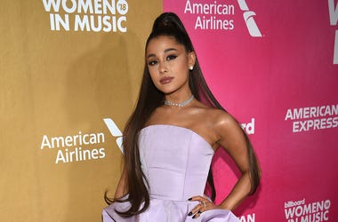 """In a Thursday, Dec. 6, 2018 file photo, Ariana Grande attends the 13th annual Billboard Women in Music event at Pier 36, in New York. Ariana Grande has cancelled a Las Vegas performance scheduled for Saturday, Dec. 29, 2018 """"due to unforeseeable health re"""