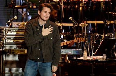In this Oct. 31, 2018 file photo, John Mayer gestures to the crowd during the tribute event Mac Miller: A Celebration of Life at the Greek Theatre in Los Angeles. Mayer is launching a foundation focused on improving the health of veterans through scientif