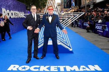 Elton John and his husband producer David Furnish