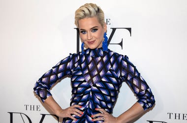This April 11, 2019 file photo shows Katy Perry at the 10th annual DVF Awards at the Brooklyn Museum in New York.  (Photo by Andy Kropa/Invision/AP, File)