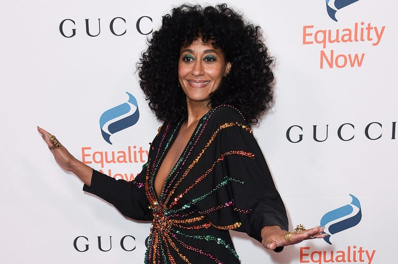"""This Dec. 3, 2018 file photo shows Tracee Ellis Ross at the 2018 Equality Now's """"Make Equality Reality"""" gala in Beverly Hills, Calif. (Photo by Richard Shotwell/Invision/AP, File)"""