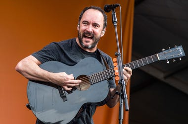 This May 4, 2019 file photo shows Dave Matthews of the Dave Matthews Band performing at the New Orleans Jazz and Heritage Festival in New Orleans. (Photo by Amy Harris/Invision/AP, File)