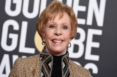 This Jan. 6, 2019 file photo shows actress-comedian Carol Burnett at the 76th annual Golden Globe Awards in Beverly Hills, California. (Photo by Jordan Strauss/Invision/AP, File)