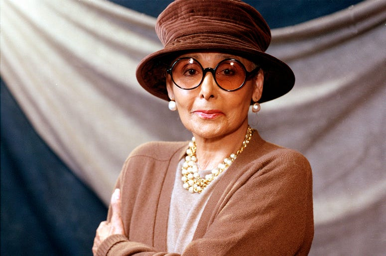 This April 7, 1994 file photo shows singer-actress Lena Horne in New York. (AP Photo/Garth Vaughan, File)