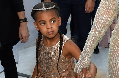 In this Aug. 28, 2016 file photo, Blue Ivy, daughter of Beyonce, arrives at the MTV Video Music Awards at Madison Square Garden in New York. (Photo by Chris Pizzello/Invision/AP, File)