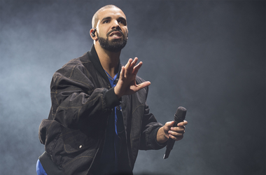 In this Oct. 8, 2016 file photo, Drake performs onstage in Toronto. The rapper has been named Spotify's most-streamed artist of the decade. (Photo by Arthur Mola/Invision/AP, File)