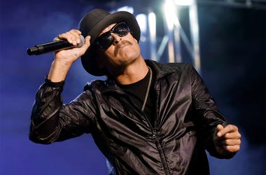 In this Wednesday, Oct. 17, 2018 file photo, Kid Rock performs in Pontiac, Michigan. (AP Photo/Paul Sancya File)