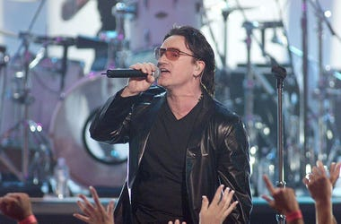 Bono (Photo credit: Kevin Winter/Getty Images)