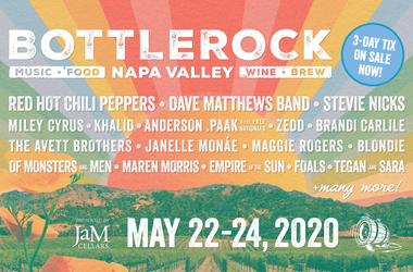 BottleRock Tickets on sale NOW