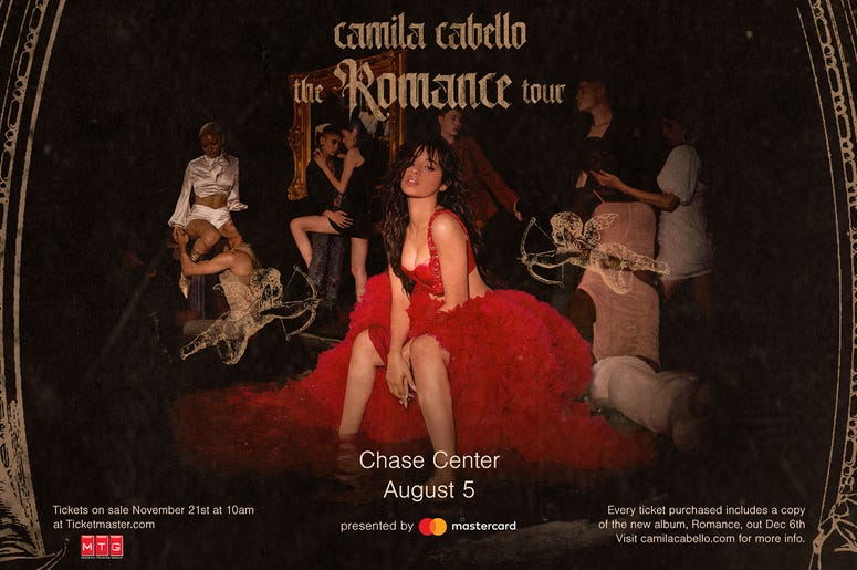 Camila Cabello - 'The Romance Tour'