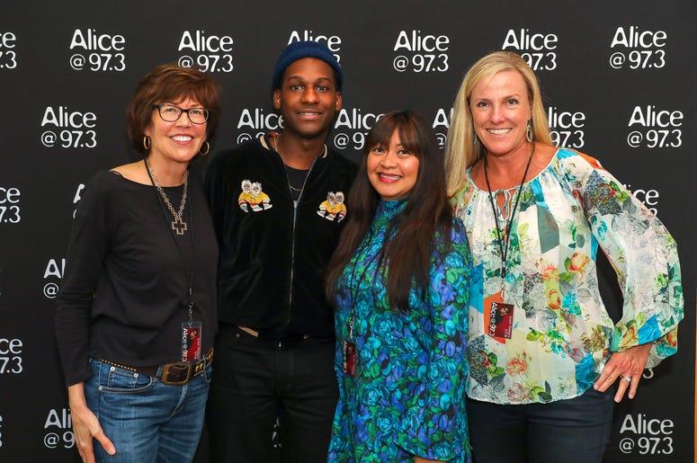 Leon Bridges Meet-N-Greet in the Alice Lounge