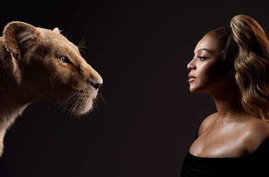 Beyoncé and Nala from 'The Lion King' (Photo credit: Disney)