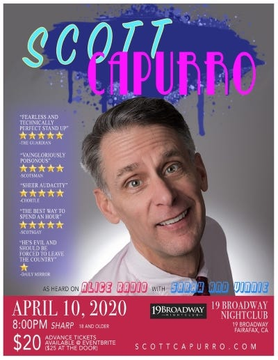 Scott Capurro April 10
