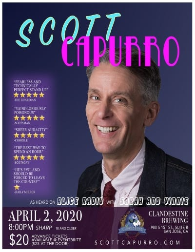 Scott Capurro April 2