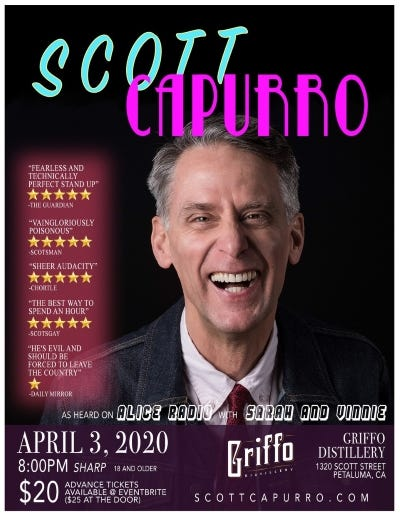 Scott Capurro April 3