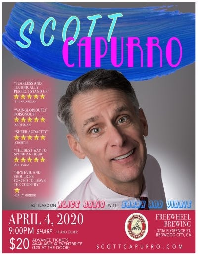 Scott Capurro April 4