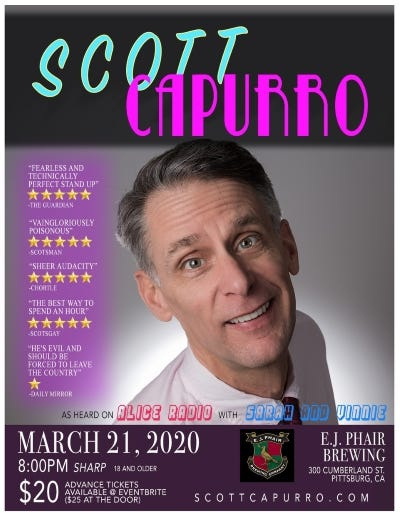 Scott Capurro March 21