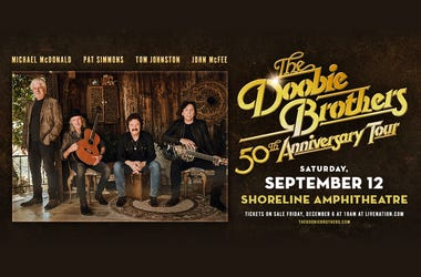 The Doobie Brothers: 50th Anniversary Tour at Shoreline Amphitheatre in Mountain View