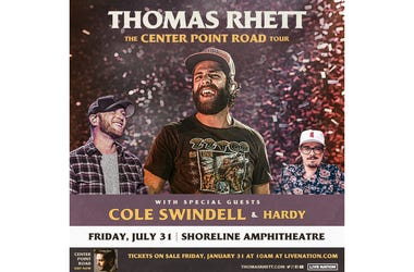 Thomas Rhett at Shoreline