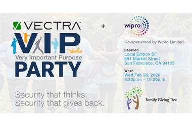 Vectra's VIP (Very Important Purpose) Party