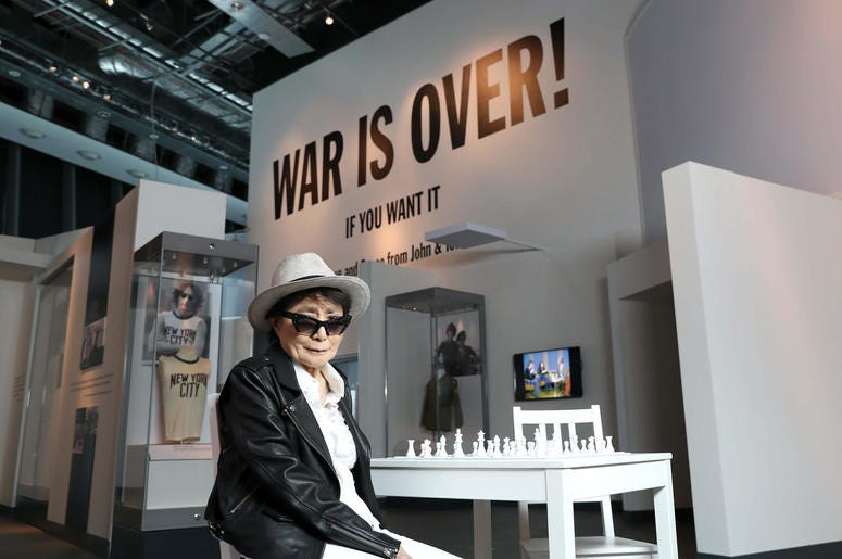 Yoko Ono (Photo credit: Press Association SIPA USA Today)
