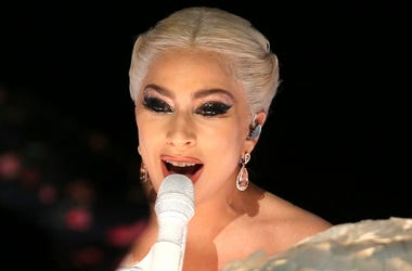 """In this Jan. 28, 2018 file photo, Lady Gaga performs at the 60th annual Grammy Awards at Madison Square Garden in New York. Lady Gaga announced Tuesday, Aug. 7, that she will kick off her first of 27 performances at the Park Theater on Dec. 28. """"Lady Gaga"""