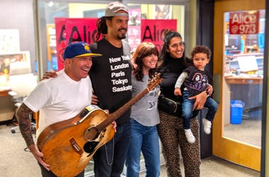 Michael Franti live in studio