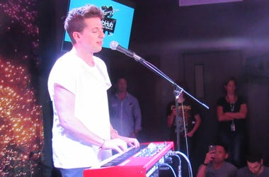 Charlie Puth On The StubHub Stage