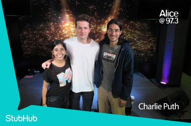 Charlie Puth Meet-N-Greet On The StubHub Stage