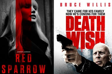 'Red Sparrow' and 'Death Wish' Movie Review