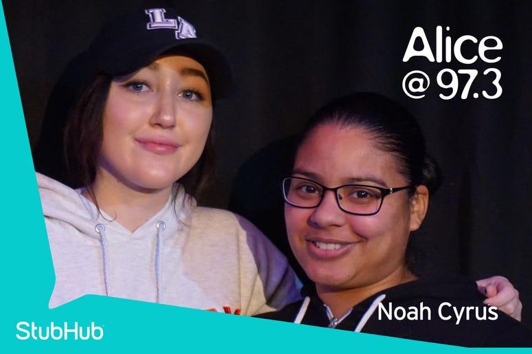 Noah Cyrus Meet-N-Greet On The StubHub Stage In The Alice Lounge