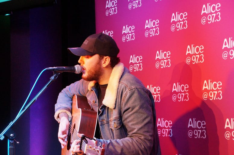 James Arthur On The StubHub Stage In The Alice Lounge