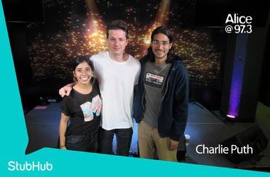 Charlie Puth Meet-N-Greet On The StubHub Stage