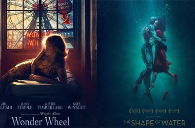 'Wonder Wheel' and 'Shape of Water'