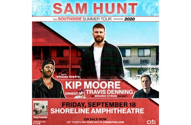 Sam Hunt Southside Summer Tour