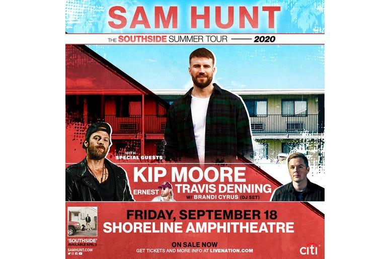 Sam Hunt Southside Summer Tour