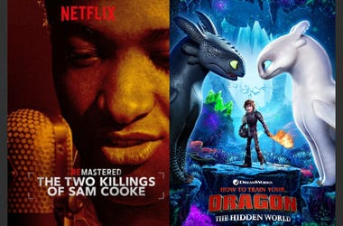 Two Killings of Sam Cooke and How To Train Your Dragon 3
