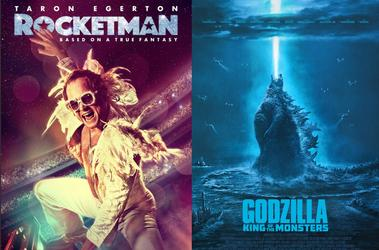 Godzilla and Rocketman