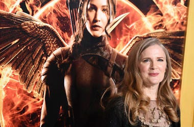 Suzanne Collins (Photo credit: Jordan Strauss/Invision/AP, File)