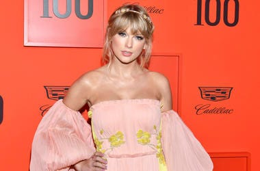 This April 23, 2019 file photo shows Taylor Swift at the Time 100 Gala, celebrating the 100 most influential people in the world in New York. (Photo by Charles Sykes/Invision/AP, File)