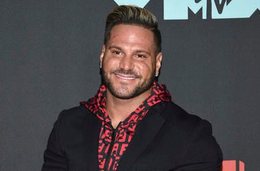 "This Aug. 26, 2019 file photo shows ""Jersey Shore"" cast member Ronnie Ortiz-Magro at the MTV Video Music Awards in Newark, N.J. (Photo by Evan Agostini/Invision/AP, File)"