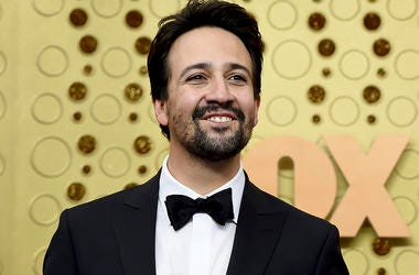 In this Sept. 22, 2019 file photo, Lin-Manuel Miranda arrives at the 71st Primetime Emmy Awards at the Microsoft Theater in Los Angeles. (Photo by Jordan Strauss/Invision/AP, File)