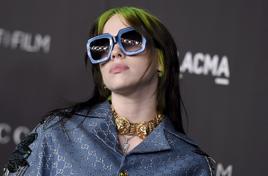 This Nov. 2, 2019 file photo shows Billie Eilish at the 2019 LACMA Art and Film Gala in Los Angeles. (Photo by Jordan Strauss/Invision/AP, File)