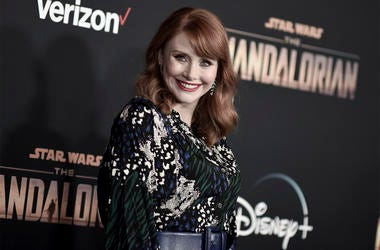 "This Nov. 13, 2019 file photo shows Bryce Dallas Howard at the premiere of ""The Mandalorian,"" in Los Angeles. Howard directed an episode of the popular Disney Plus series. (Photo by Richard Shotwell/Invision/AP, File)"