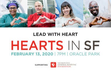 Hearts in SF Event