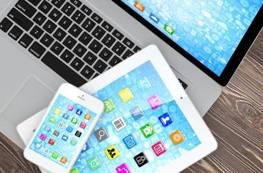 Laptop, Tablet, Smart Phone