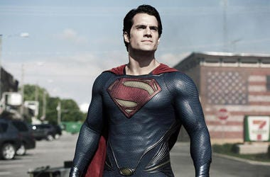 "Henry Cavill as Superman in ""Man of Steel"""