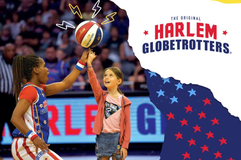 Win Harlem Globetrotter tickets!