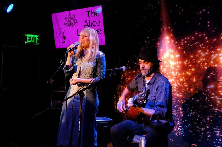 See pictures of Natasha Bedingfield performing live in the Alice Lounge presented by Fremont Bank.
