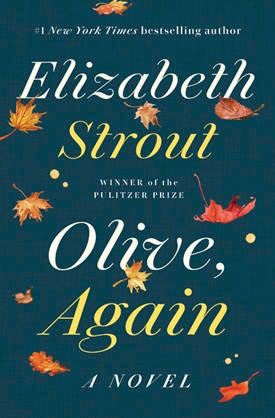 """This image released by Random House shows """"Olive. Again,"""" by Elizabeth Strout. Oprah Winfrey has chosen Strout's novel as her next book club read. (Random House via AP)"""